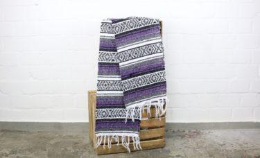 Falsa Decke lila 180 x 70 cm