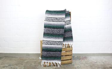 Falsa Decke dunkelgrün 180 x 130 cm
