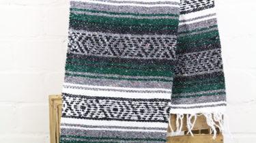 Falsa Decke dunkelgrün 180 x 70 cm