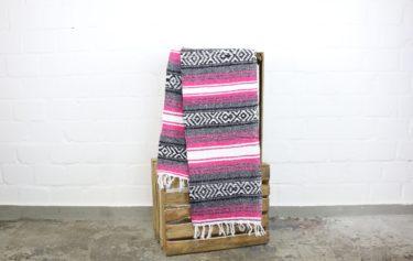 Falsa Decke pink 180 x 70 cm