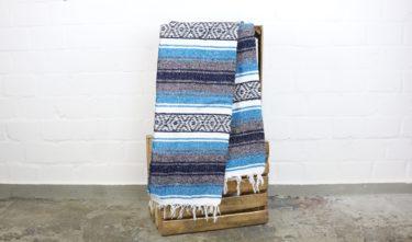 Falsa Decke eisblau180 x 70 cm
