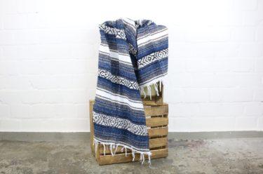 Falsa Decke dunkelblau 180 x 70 cm